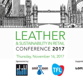 Prominent Brand, Retail, Chemical and Legal Representatives to Participate in Panel Sponsored by TFL at Leather & Sustainability in Retail Conference 2017