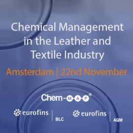Register for a FREE Technical Seminar: Chemical Management in the Leather and Textile Industry