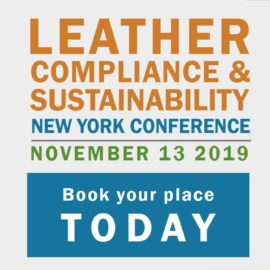 Latest Developments for the  Leather, Compliance, and Sustainability Conference.